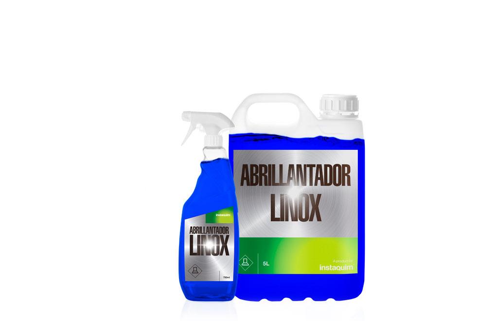 Linox, Abrillantador de acero inoxidable