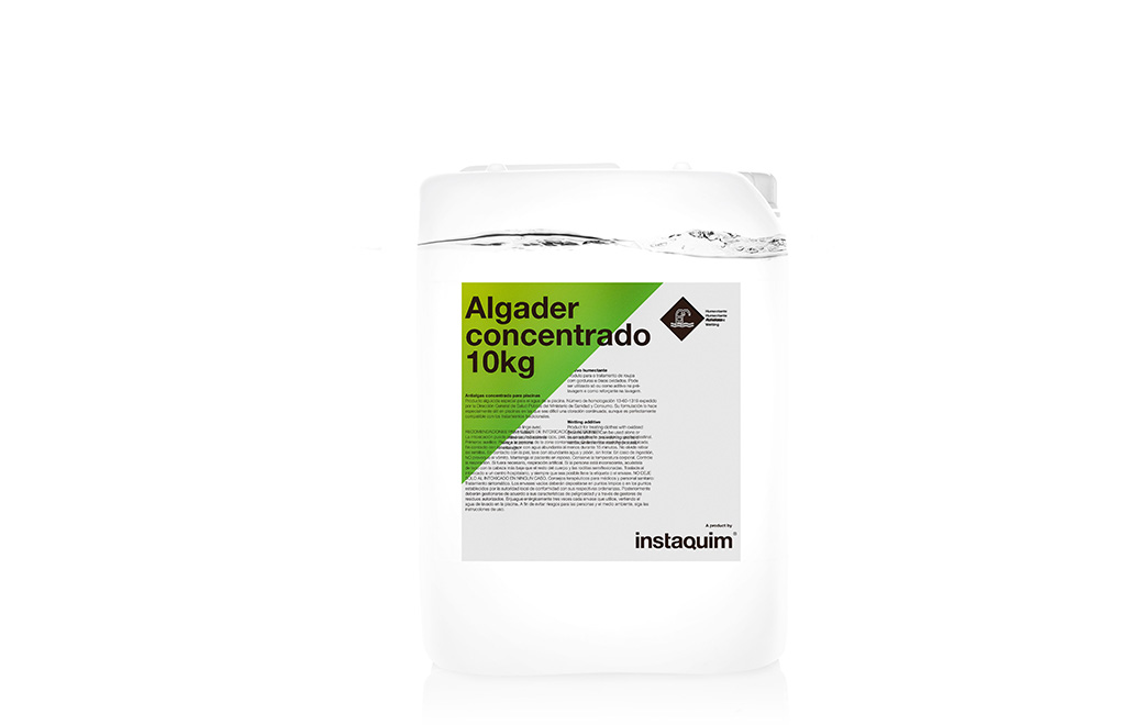 Antialgas concentrado para piscinas productos de for Antialgas piscina
