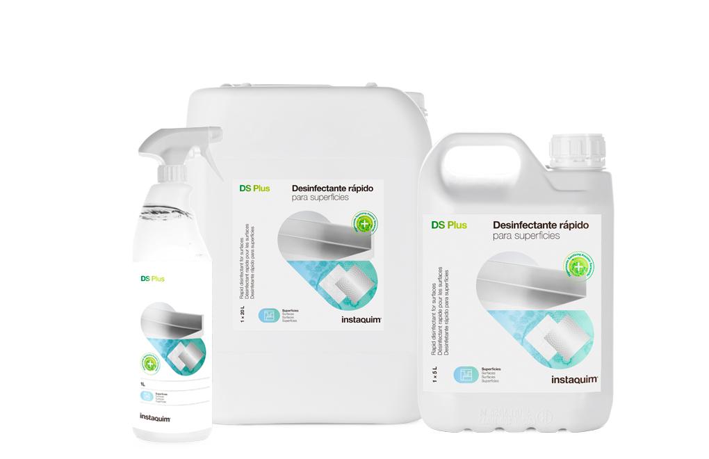 DS Plus, Bactericida-fungicida rápido para superficies de la industria alimentaria