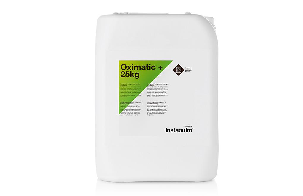 Oximatic +, Blanqueante enérgico para lavado automático