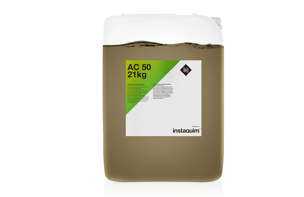 AC 50, Desincrustant concentrat per a instal·lacions d'aigua