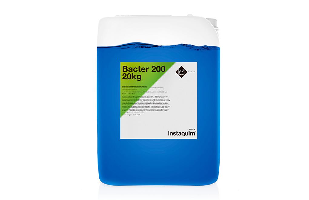 Bacter 200, Desinfectante para el tratamiento de legionella