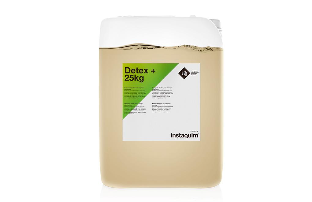 Detex +, Detergente alcalino para limpieza automática