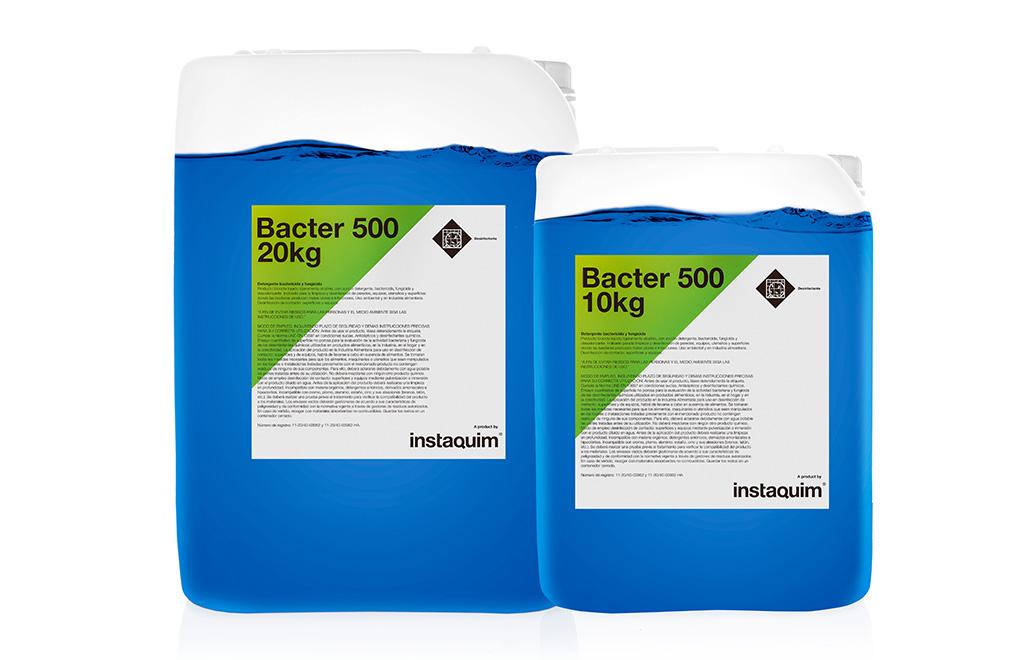 Bacter  500, Detergente bactericida y fungicida