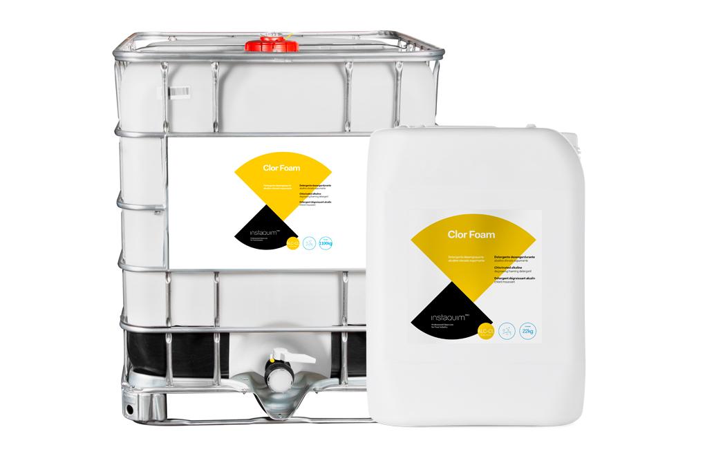 Clor Foam, Chlorinated degreasing cleaner