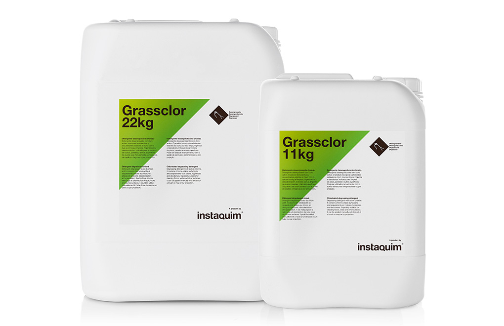 Grassclor, Detergente desengrasante clorado