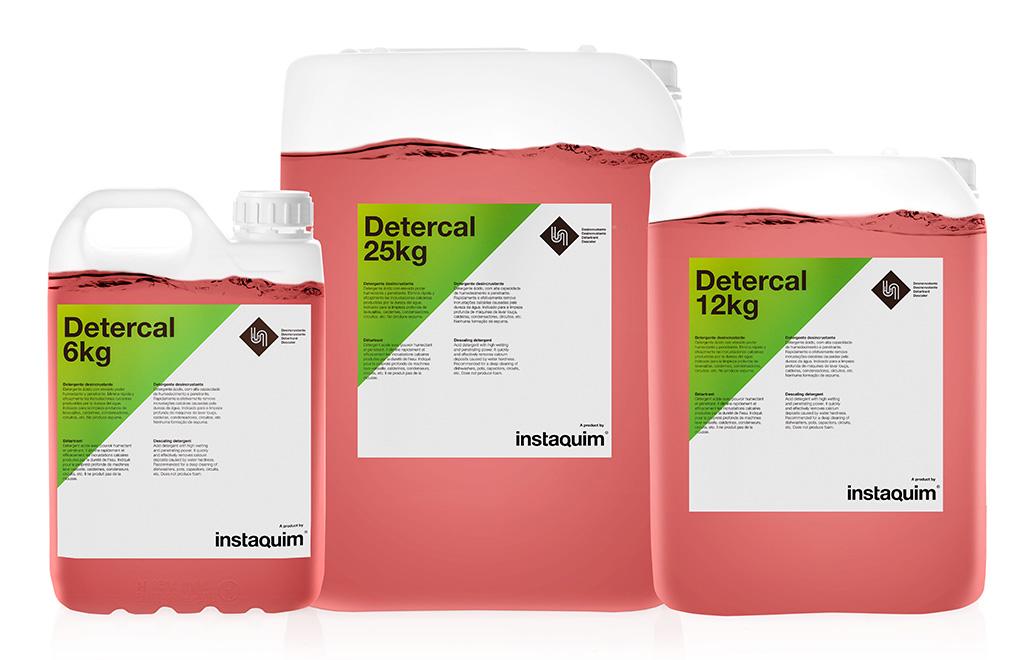 Detercal, Descaling detergent