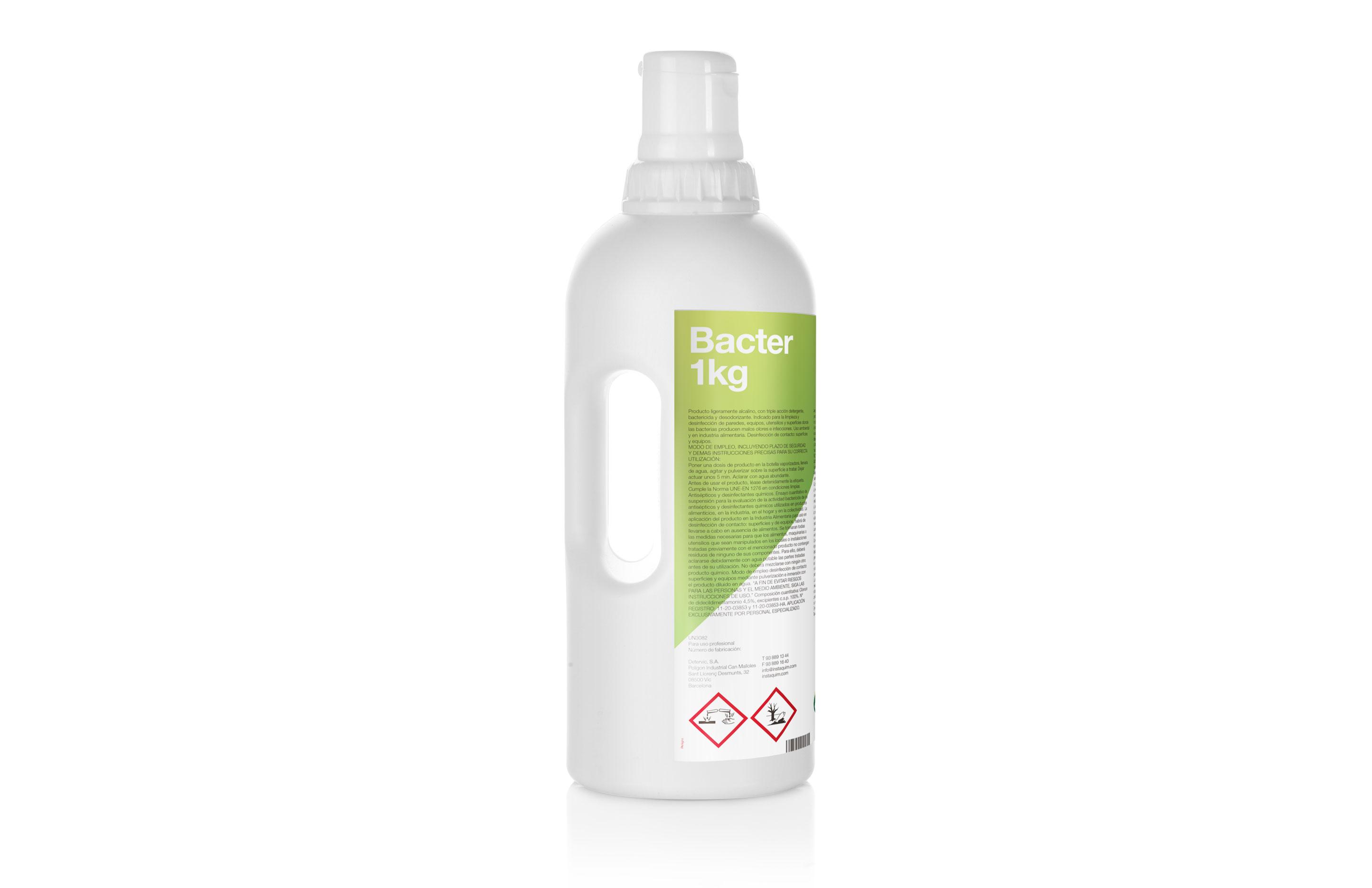 Bacter Autodosis, Disinfectant detergent