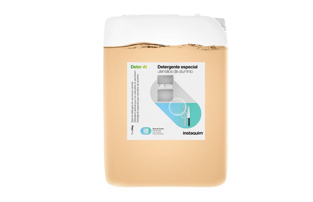 Deter Al, Detergente especial para utensilios de aluminio