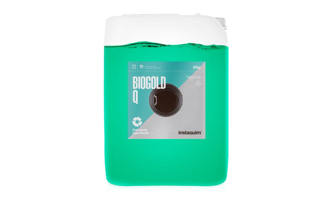 Biogold Q, Detergente líquido enzimático, higienizante