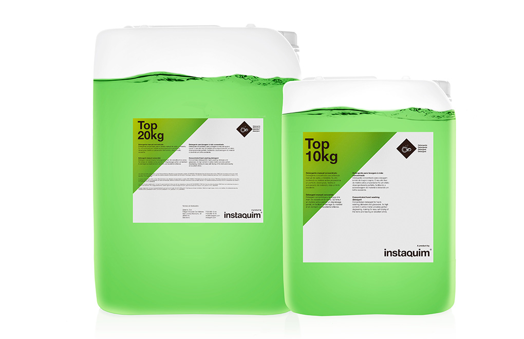 Top, Concentrated hand washing detergent