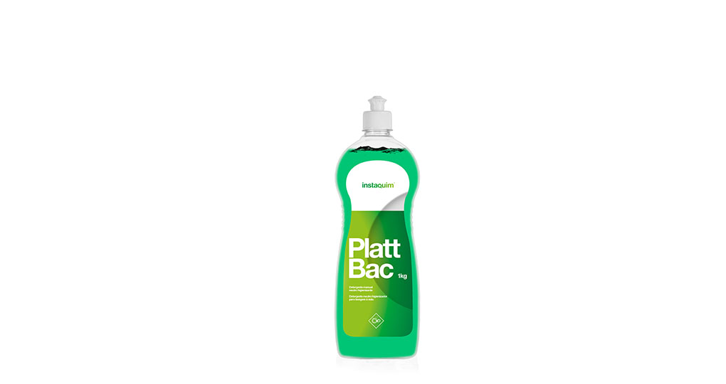 Platt Bac, Neutral hygienizing detergent for manual washing