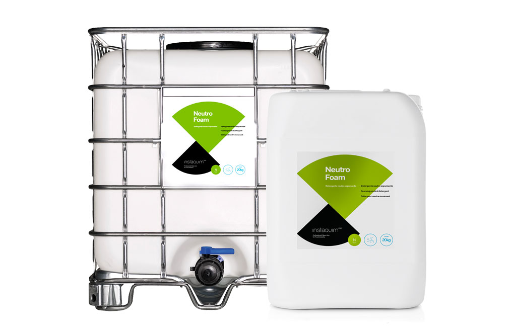 Neutro Foam, Detergente neutro espumante