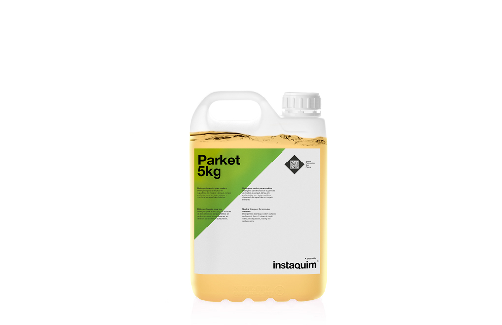 Parket, Neutral detergent for wooden surfaces