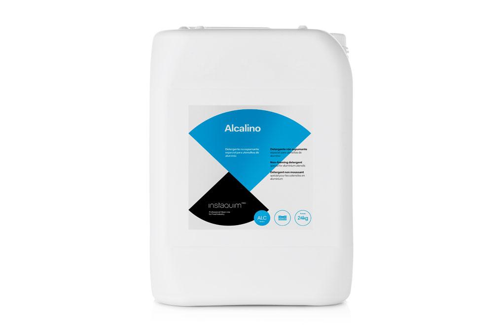 Alcalino, Detergente no espumante especial para utensilios de aluminio