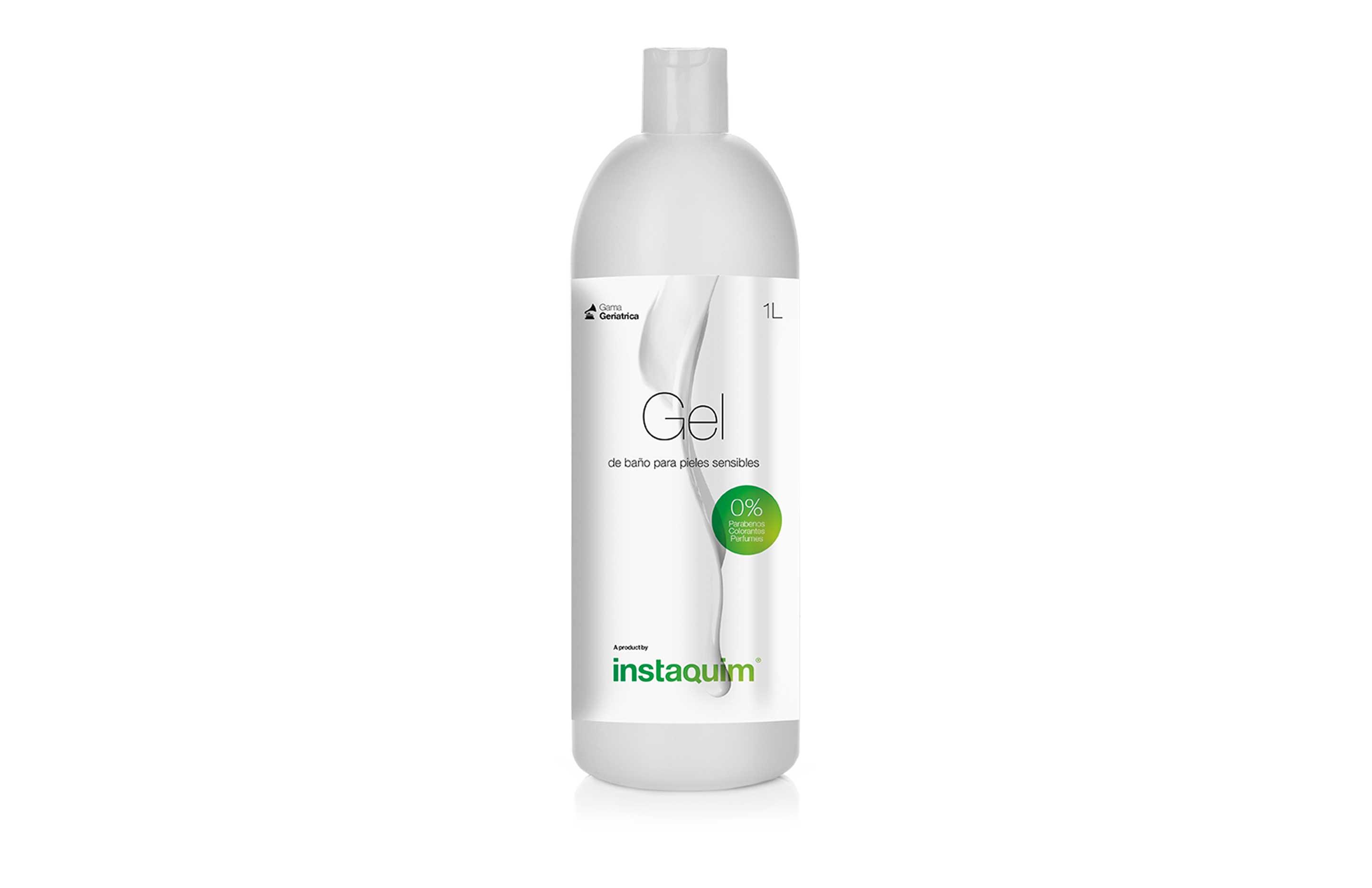 Gel de baño piel sensible 0%, Especial para pieles sensibles