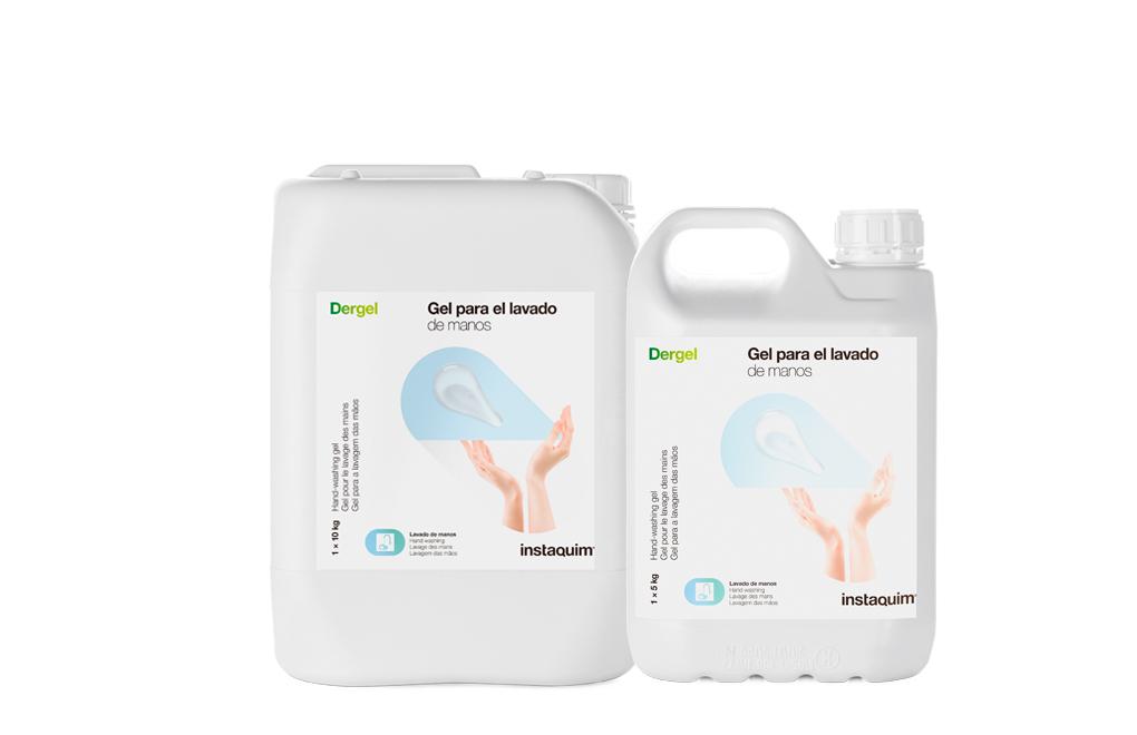 Dergel, Gel para el lavado de manos
