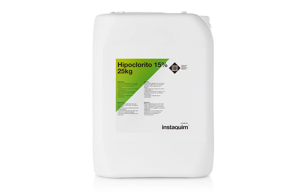 Hipoclorito 15%, Higienizador
