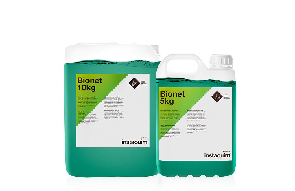 Bionet, Limpiador universal amoniacado