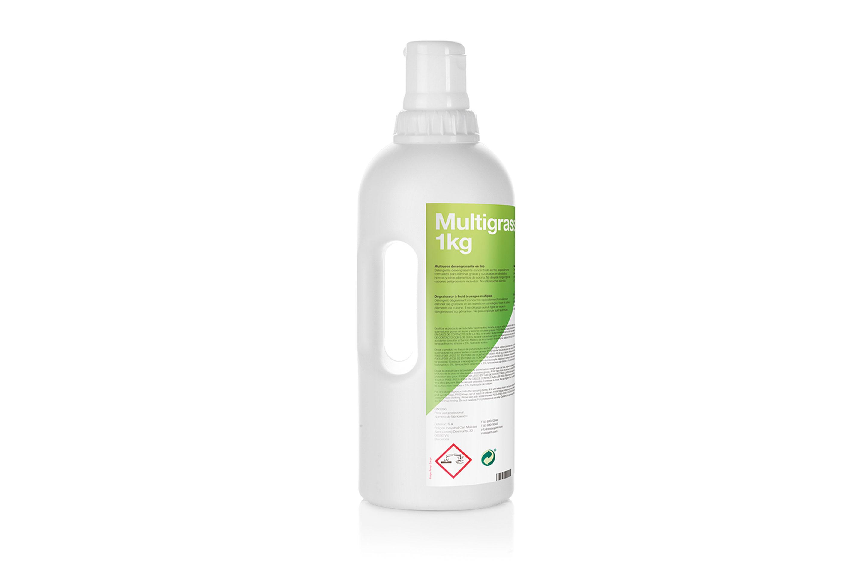 Multigrass, Multiusos desengrasante en frío - Autodosis