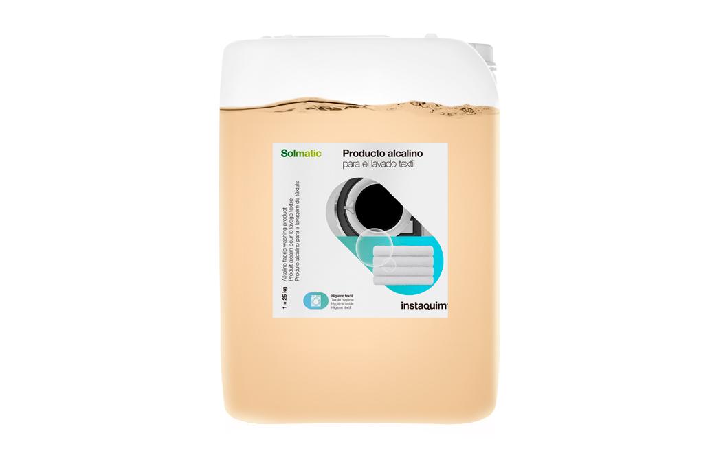 Solmatic, Producto alcalino para el lavado textil