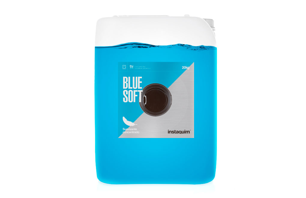 Blue Soft, Fabric softener with microencapsulated perfume