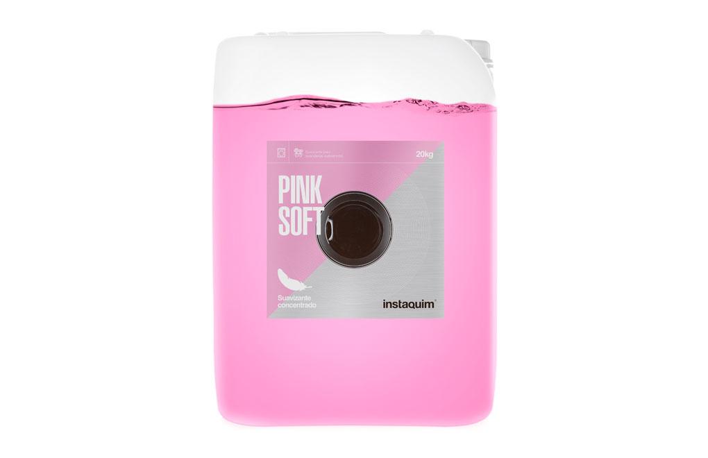 Pink Soft, Suavizante para lavanderías autoservicio