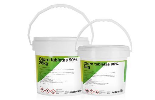 Cloro tabletas 90%