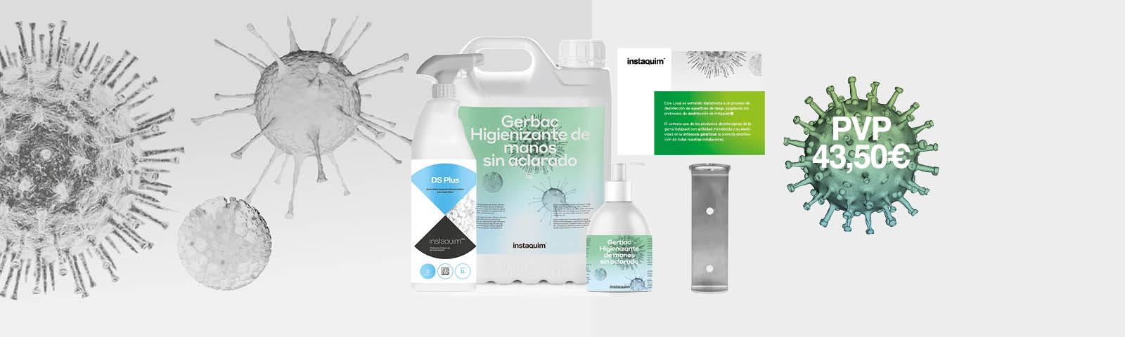 Promoción Pack Desinfección